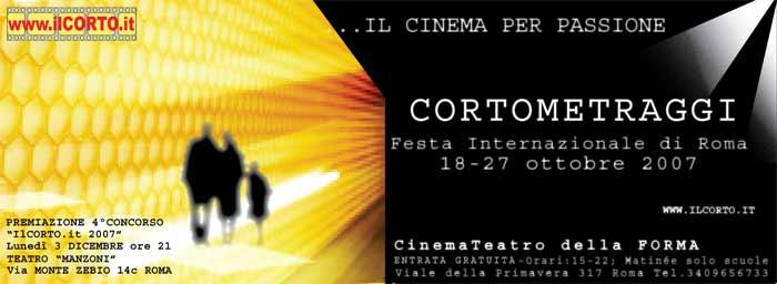 www.ilcorto.it ed il TeatroCinema Della FORMA